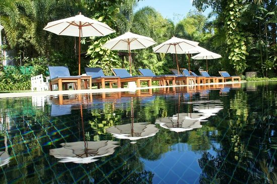 Salathai Resort: Poolside, Salathai