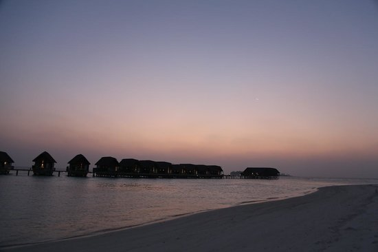 COMO Cocoa Island:                   日落後