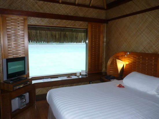 InterContinental Bora Bora Le Moana Resort:                   la chambre