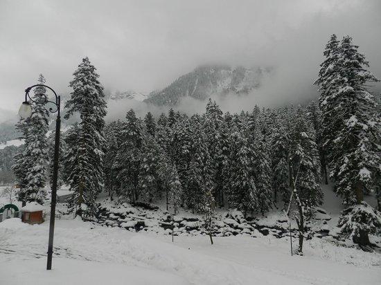Sinthan Top :                   En route Sinthan Pass