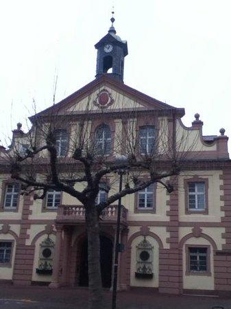 Rathaus Rastatt:                   Ansicht vom Marktplatz