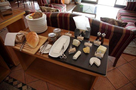 Hyatt Regency Sharm El Sheikh Resort:                   Frühstück im Regency Club