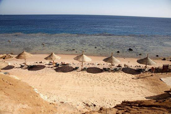 Hyatt Regency Sharm El Sheikh Resort:                   Strand für Ruhesuchende