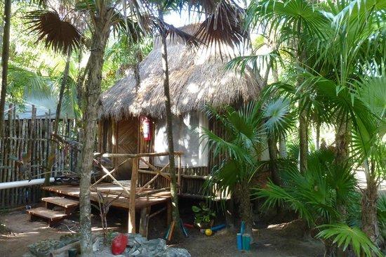 Xbalamque Cabanas Tulum: cabane