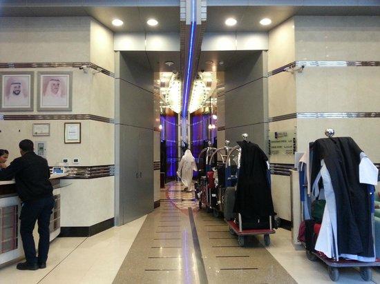 Al Salam Hotel Suites: reception