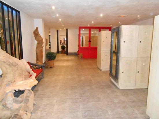 Residence le Telemark :                   vestiaire