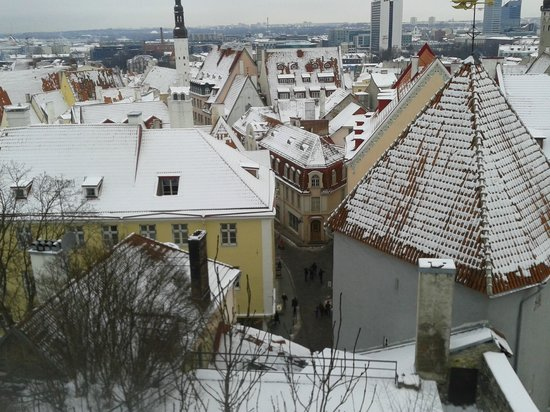 von Stackelberg Hotel Tallinn:                   old town - high vantage point
