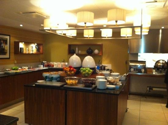 Scandic Stora Hotellet: breakfast buffet