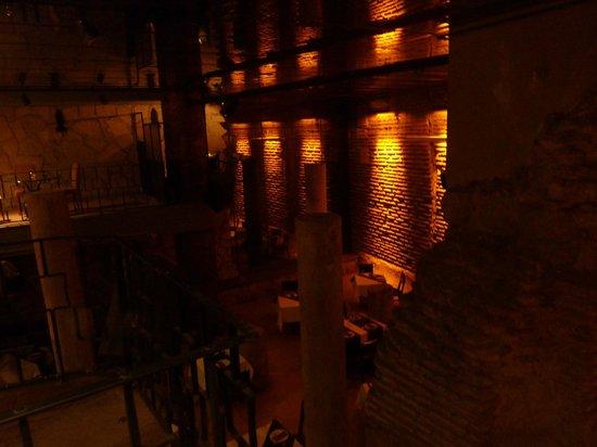 Antik Hotel Istanbul : ristorante cisterna