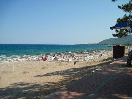 Endam Hotel:                   Пляж Эндама