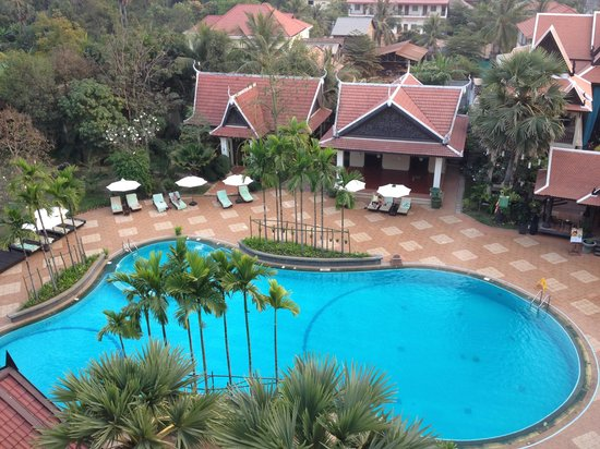 Borei Angkor Resort & Spa:                   View from the suite