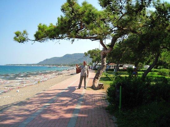 Endam Hotel:                   Пляж Эндам-отеля