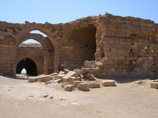 Harran, ตุรกี:                   ruins