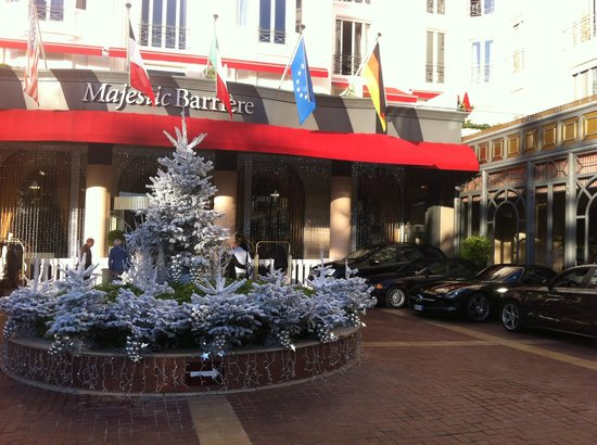 Hôtel Barrière Le Majestic Cannes: Réveillon 31/2012 > 01/2013 @ Majestic Barrière
