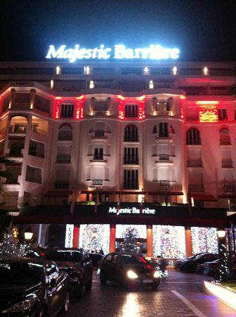 มาเจสติก บาร์ริเเยร์ คานส์: Réveillon 31/2012 > 01/2013 @ Majestic Barrière