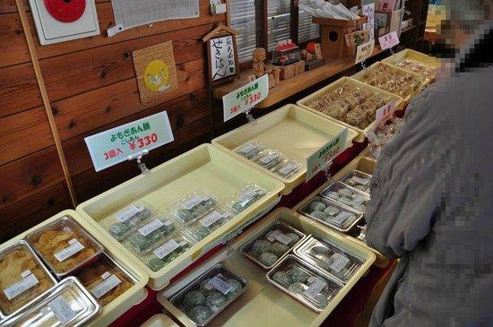 Folklore Station Somin:                   大福餅を購入
