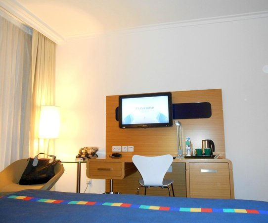 Park Inn by Radisson Abu Dhabi Yas Island: the room