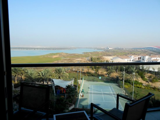 Park Inn by Radisson Abu Dhabi Yas Island: balcony view