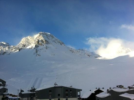 Hotel Vanoise :                   View from our room!