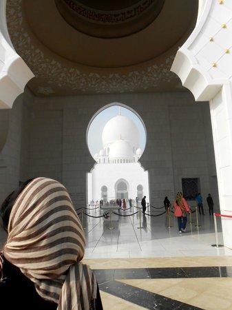 Masjid Agung Sheikh Zayed: entrance