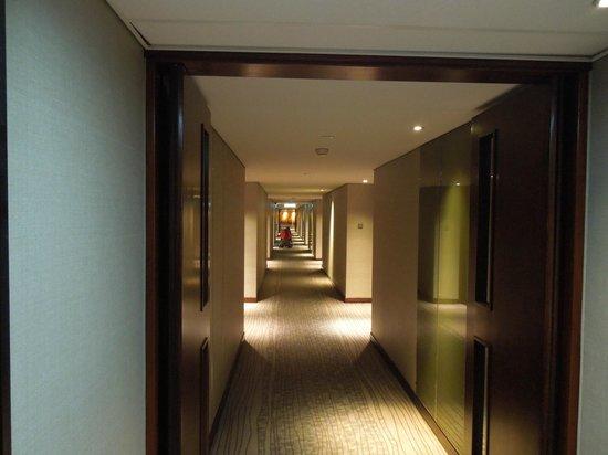 Marco Polo Hongkong Hotel:                   ホテルの廊下