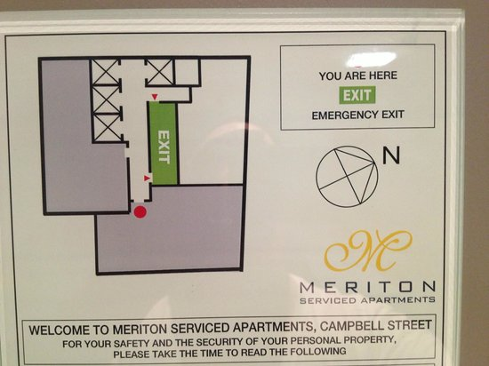 Meriton Serviced Apartments Campbell Street:                   39th Floor Plan (3901 is bottom)