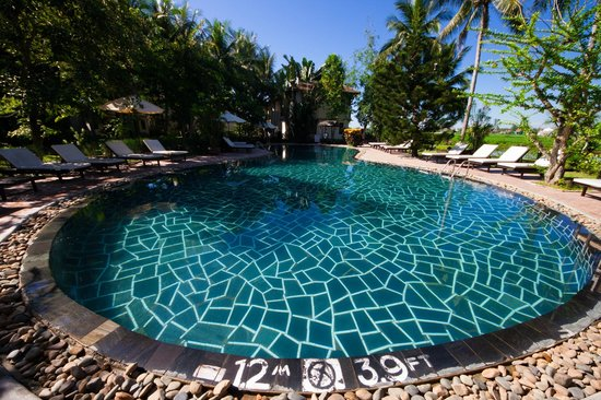 Hoi An Riverside Resort & Spa:                   The pool