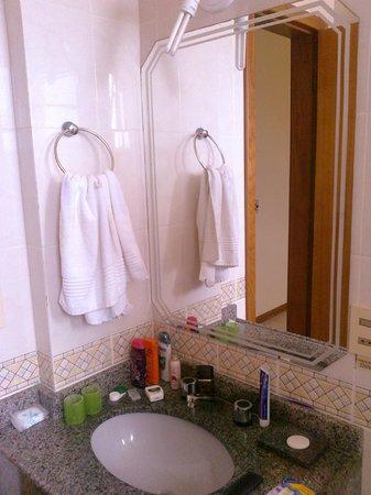 Gaivotas Praia Hotel:                   Banheiro