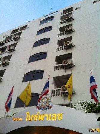 Nice Palace Hotel :                   Façade