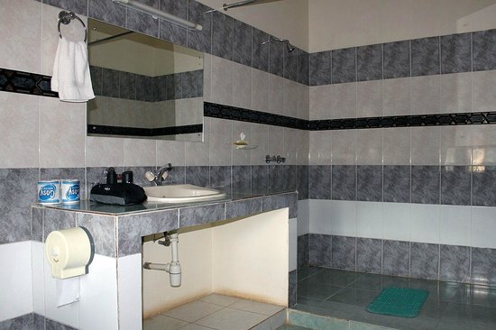 Tara Suites:                                                       one of the bathrooms in the 2-bedroom-appa