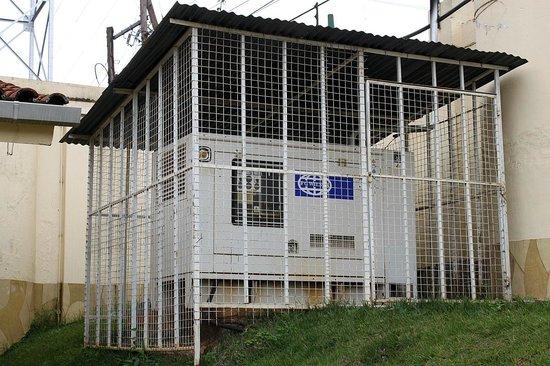 Tara Suites:                                                       the generator behind the 2 bedroom-appartm