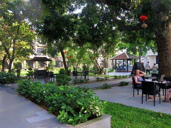 Hoi An Historic Hotel: Garten