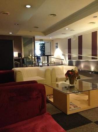 Hotel Arc La Rambla:                   lobby (met goeie wifi verbinding:)