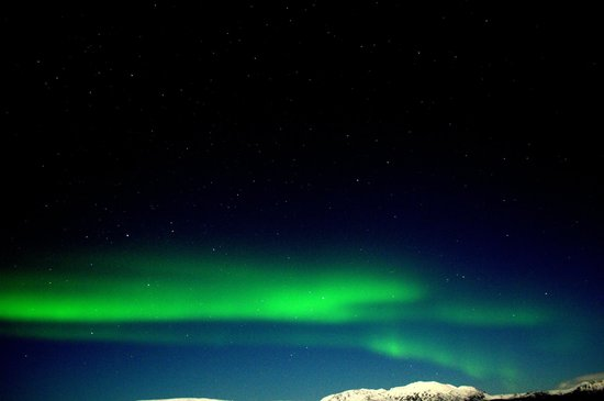 Golden Circle Route:                   northen lights in over the thingviller park