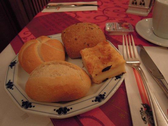 Top Hotel Amberger:                   朝食