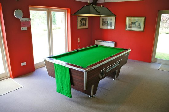 Bealey Court Holiday Cottages:                   Pool table