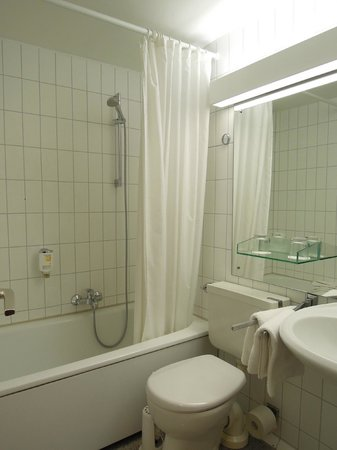 Advena Europa Hotel Mainz:                   バスルーム