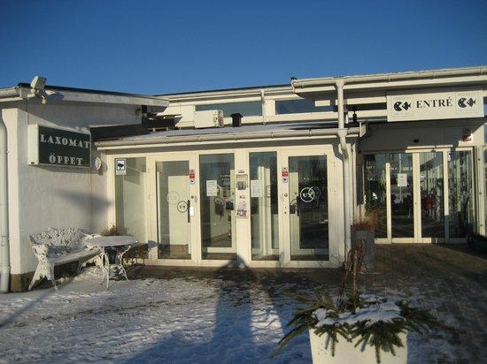Laxbutiken in Heberg :                   Laxomat - Einkaufen nach Betriebsschluss