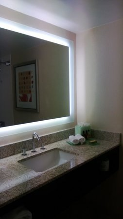 Miami Marriott Biscayne Bay: bathroom area