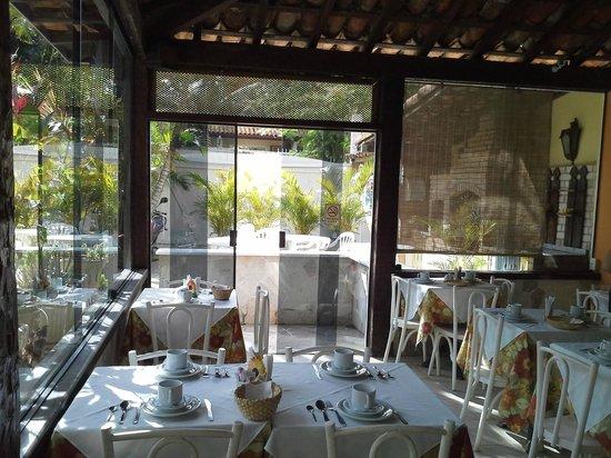 Auberge de la Langouste:                   El lugar para desayunar
