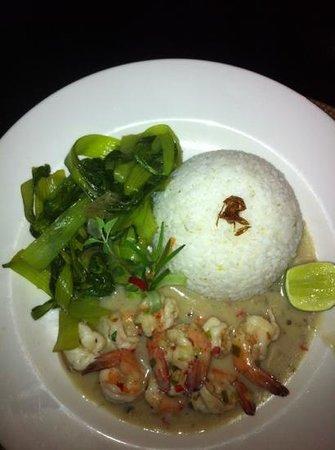 Asmara Restaurant & Lounge:                   prawns thaï