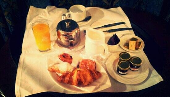 The Landmark Hotel :                                     Fresh pastries for breakfast