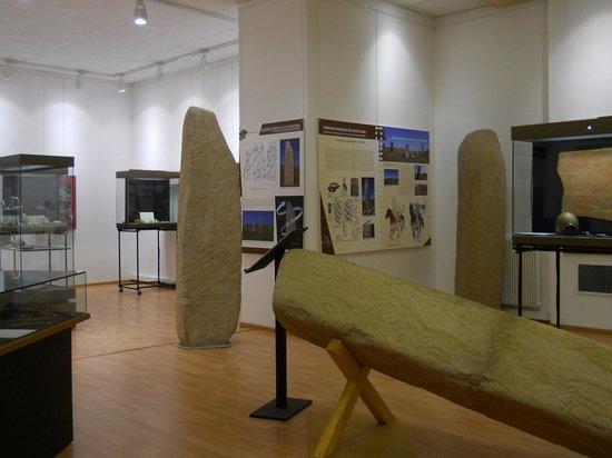 Musee de Prehistoire Regionale:                   Sala sotterranea