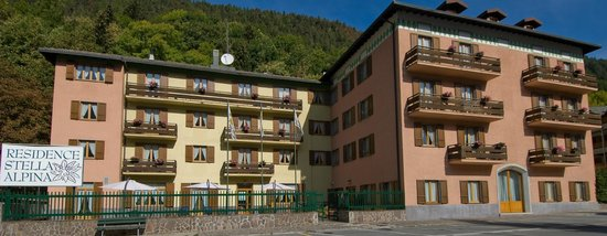 Residence Stella Alpina: Residence Esterno