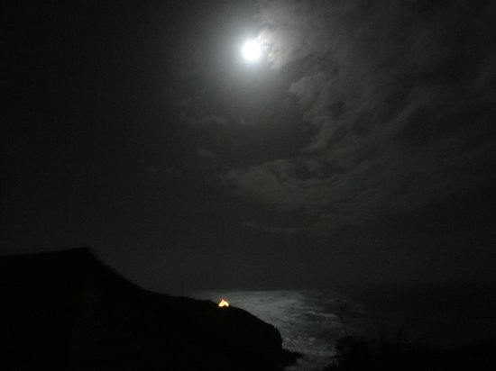 Cadgwith Cove Inn Restaurant:                   Cadgwith Cove bei Vollmond