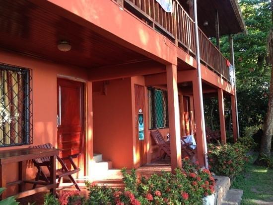 Cabinas Mar y Cielo: front porch