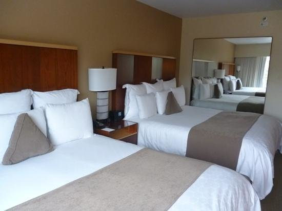 Loews Hollywood Hotel :                   two king beds