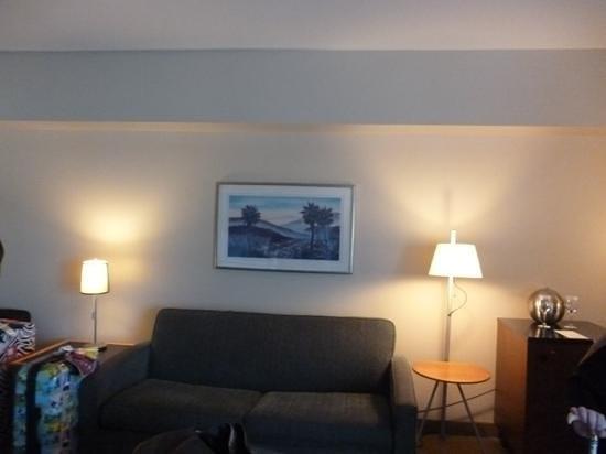 โรงแรมโลวส์ ฮอลลีวู้ด:                   sofa area