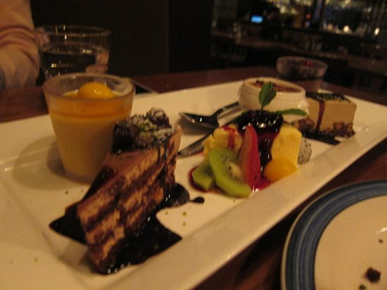 King Ludwig Beerhall : desserts