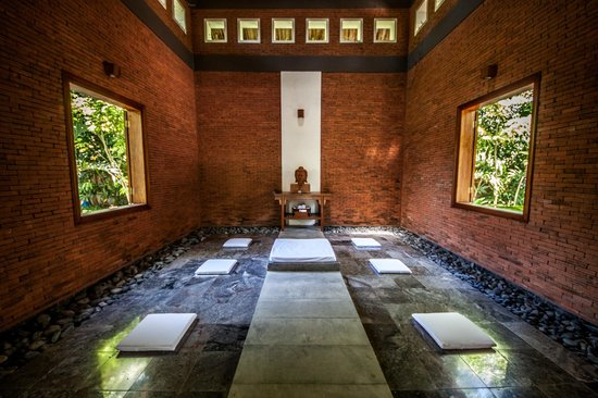 Pilgrimage Village: meditation room